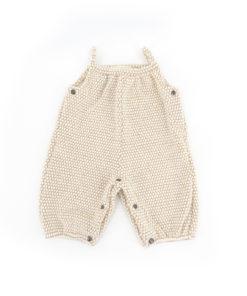 Salopette per bebè in lana