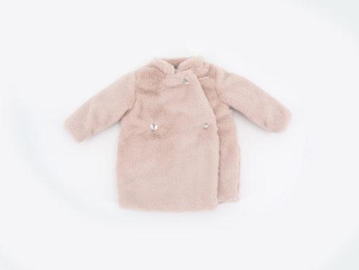 pelliccia ecologica bambina